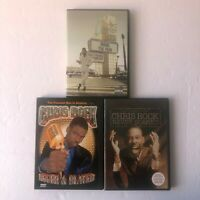 Chris Rock Lot 3 DVDs Bigger and Blacker Never Scared Bring the Pain VGC