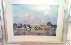 Dale Elliott: Stunning South African Framed Landscape Oil Painting