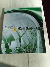 Renault Twingo range brochure Dec 2001 German text