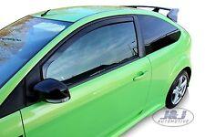 FORD FOCUS  2  3 portes 2004-prés  Deflecteurs d'air Déflecteurs de vent 2pcs