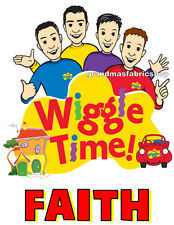 The Wiggles Custom Personalized T Shirt Part favor birthday present