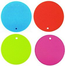 6 Pack Silicone Pot Holders Mat,Heat Resistant /& Eco-Friendly Jar Opener Gr O5M5