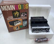 Tenna MovinMoods Mini-8 Track Stereo Car Tape Player Ranger Rr-45T New Vtg Rare
