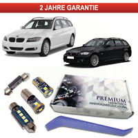 BMW E91 LED Innenraumbeleuchtung Premium 17 SMD Set Weiß Canbus F31 3er