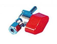 Absperrventil 8mm Gas Ermeto auf Rohrzapfen
