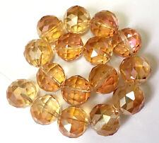 70 Rondelle Cristal Facetado Cuentas Sueltas 6x8mm cuentas de vidrio fabricación de joyas Arts