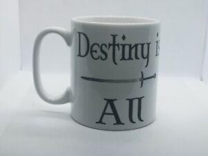Destiny Is All Arseling TLK The Last Kingdom Novelty Gift Idea Mug, Coffee Tea
