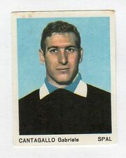figurina CALCIATORI FERRERO 1965 SPAL CANTAGALLO