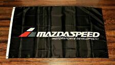New Mazda Speed Banner Flag MazdaSpeed Racing 3x5 Motorsports Development Garage