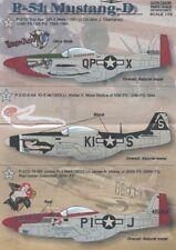 Imprimé échelle 1/72 North-American P-51D Mustang # 72039