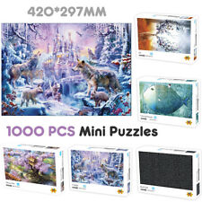 1000 Pieces Elk Twilight DIY Jigsaw Puzzle Adult Children Educational Toy Decor