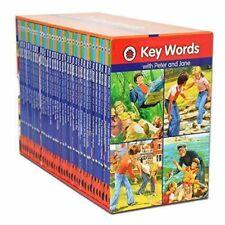 36 Books Ladybird KEY WORDS With PETER AND JANE Slipcase Box Set Hard Cover