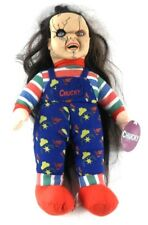 """Toy Works CHUCKY Horror Doll Stuffed Toy 13"""" tall Long Hair with Tags"""