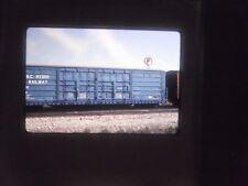 Original Slide Train RR Yard Depot Car Freight Box BC Hydro RY Double door pass