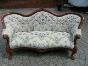 3 SEATER ORNATE LOUIS FRENCH ITALIAN STYLE SETTEE SOFA  ANTIQUE ? REPRODUCTION ?