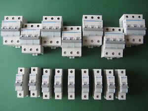 Hager Sicherung FI Schutzschalter Sicherungsautomat LS B C 10 16 20 25 32 40 A