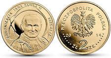 D677 Polonia 2014, 2 ZL Juan Pablo II Santo, SC- Poland Pope Canonization, UNC
