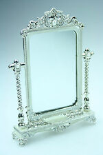 Luxury Metal - Pearl Cosmetic Make up Mirror - Brand New - CM04 - On Sale !