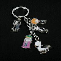 Harry Potter Dumbledore Buckbeak Enamel Funny Novelty Keyring Keychain Gift Bag