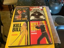Tarantino Kill Bill 1 2, Death Proof, Dusk Til Dawn (lot of 4 Dvds)