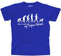 TEVO T-Shirt Hunde EVOLUTION BELGIAN MALINOIS Mali born to walk Siviwonder