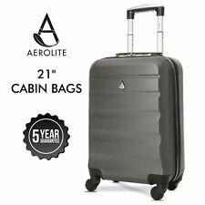 Aerolite Ryanair Cabin Bag Suitcase Lightweight Hand Luggage Hard Shell 55x35x20