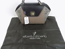 """PURSE - NEW ALBERTA DI CANIO LEATHER PURSE - STYLE """"DOLLY"""" - MADE IN ITALY - NWT"""