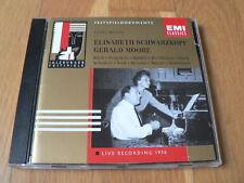 Schwarzkopf & Moore : Lieder Recital 1956 Salzburg - Bach, Pergolesi.. CD EMI