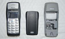 Genuine Original Black Nokia 1100 Front Fascia & Battery Cover - Graded Product