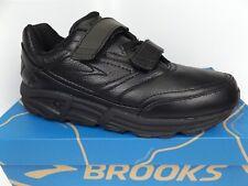 Brooks Men's, Addiction Walker V-Strap 2 Walking Shoes SZ 9.5 BM, Black Leather