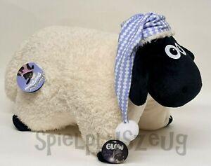 NICI 41473 Shaun das Schaf Kuscheltier Kissen figurlich 40x30cm NEU