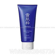 Kose Sekkisui White Facial Washing Cleansing Cream 80G Japan