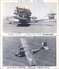 WWII US Navy Consolidated PBY-5A/6A Catalina Flying Boat Patrol Airplane Photos