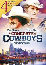 NEW - Concrete Cowboys with 4 Bonus Films