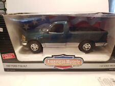 ERTL AMERICAN MUSCLE 1997 FORD F-150  XLT 1/18 SCALE - GREEN