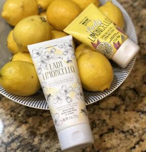 Perfectly Posh Lady Limoncello Body Scrub and BFYHC Hand Creme Lemon Honey