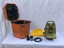 Leica Tca1100 Total Station With Case, Batteries (Dead), Cable