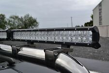 "22.9""  Aluminium 7D LED Spot Light Bar + DRL/Park Light Dual function"