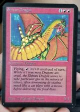 Vintage Magic | MTG Alpha Shivan Dragon | NM/MINT Condition, OLD SCHOOL!!!
