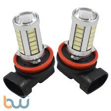 2× Ice Blue H11 H8 33SMD LED Lens Bulbs For Car Driving Fog Lights US