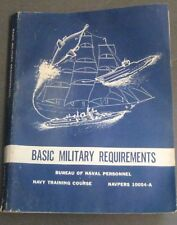 Basic Military Requirements Bureau Of Navy Personnel 62
