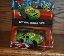 Disney Pixar Cars SHINY WAX #82 Exclusive Die Cast Synthetic Rubber Tires NEW