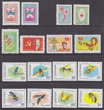 Viet Nam Dem Rep Sc 1165/1189 NGAI. 1982 issues, 4 cplt sets VF