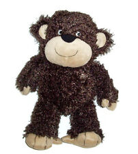 "14"" Carters Monkey Plush Dark Brown Curly Floppy Baby Stuffed Animal Toy 41394"