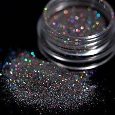 2g Pro Nail Art Glitter Powder Holographic Gradient Halo Dyed Dust Pigment Decor