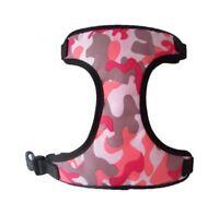 Hundegeschirr Hundehalsband Geschirr Camouflage Chihuahua Yorkie S Rosa NEU