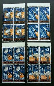 [SJ] Antigua Space New Tracking Station 1968 Apollo Astronomy (stamp blk 4) MNH