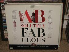 ABSOLUTELY FABULOUS Laserdisc 3LD  12 episodes BBC Saunders/Lumley