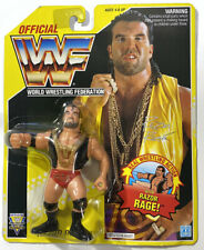Hasbro WWF Series 7 Razor Ramon Yellow Card Wrestling Figure WWE MOC Hall 1993