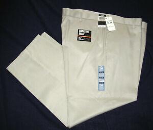 Dockers Mens 42 30 Signature Khaki Pants Straight Fit D2 Flat Front 408280001